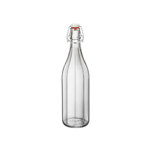 330-150 Bormioli Rocco Oxford Swing Top Bottle Clear 1Lt Leisure Coast Hospitality & Packaging
