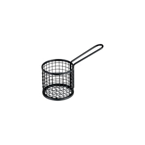 Food Presentaion Service Basket Black