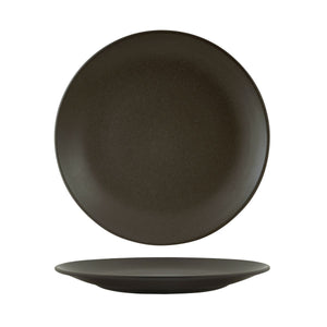 90965 Zuma Charcoal Round Coupe Plate 260mm Leisure Coast Hospitality & Packaging