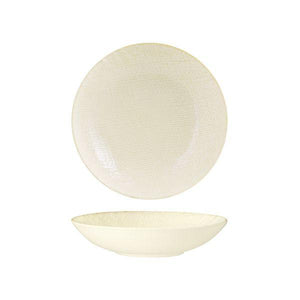 94553-RW Luzerne Linen Reactive White Round Bowl 230mm / 1100ml Leisure Coast Hospitality & Packaging