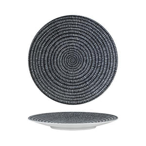 Luzerne Zen Storm Round Coupe Plate