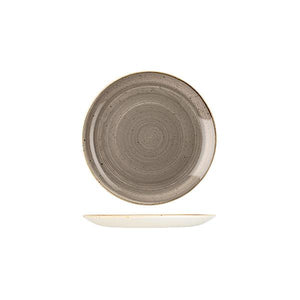 9975116-P Stonecast Peppercorn Grey Round Coupe Plate 165mm Leisure Coast Hospitality & Packaging