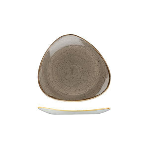 9975319-P Stonecast Peppercorn Grey Triangular Plate 192x192mm Leisure Coast Hospitality & Packaging