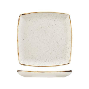 9975510-W Stonecast Barley White Deep Square Plate 268x268mm Leisure Coast Hospitality & Packaging