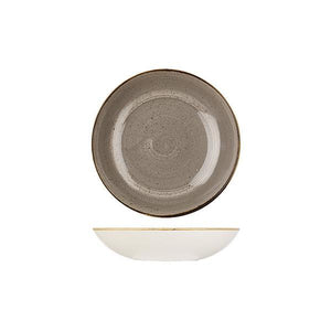 9975618-P Stonecast Peppercorn Grey Round Coupe Bowl 182mm / 426ml Leisure Coast Hospitality & Packaging