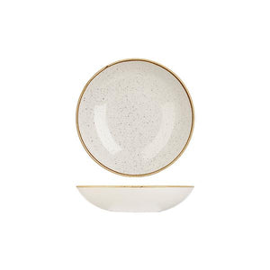 9975618-W Stonecast Barley White Round Coupe Bowl 182mm / 426ml Leisure Coast Hospitality & Packaging