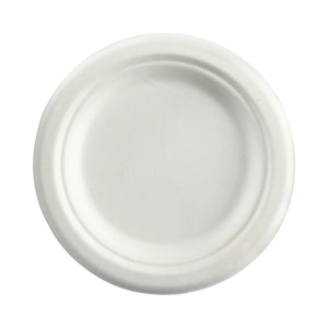 B-PL-06 BioPak Round Plate 155mm Leisure Coast Hospitality & Packaging Supplies