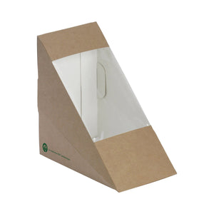 BioBoard Sandwich Wedge, BioBoard Sandwich Wedges, Sandwich Wedge, Sandwich Wedges, Eco-Friendly, Environmentally Frienly, Kraft Packaging, Leisure Coast Hospitality, Leisure Coast Hospitality and Packaging, Leisure Coast Packaging, South Coast Packaging, Hospitality Supplies, Gift Boxes, Disposable Packaging, Disposable Eco Food Packaging Supplies, Disposable Eco Food Packaging, Disposable Food Packaging, BioPak, BB-SW-MEDIUM2