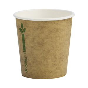 BioCup Single Wall Kraft Green Line