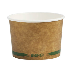 BioBowl Hot Paper Containers & Lids