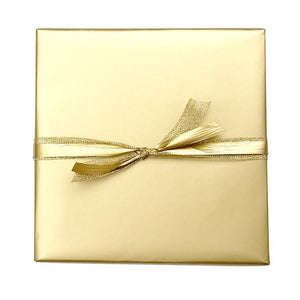 BW GOL Christmas Gift Wrap Metallic Wrap Gold Leisure Coast Hospitality & Packaging Supplies