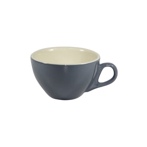 BW0430 Brew Blue Steel Cappuccino Cup 220ml Leisure Coast Hospitality & Packaging