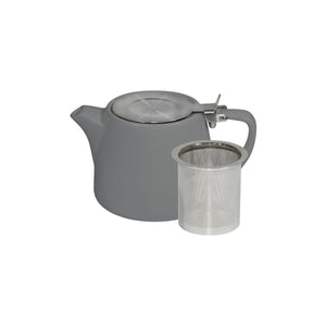 BW0560 Brew French Grey Stackable Teapot 500ml Leisure Coast Hospitality & Packaging
