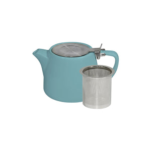 BW0660 Brew Maya Blue Stackable Teapot 500ml Leisure Coast Hospitality & Packaging