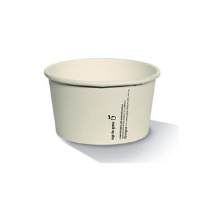Bamboo Ice Cream Cups PLA Coated