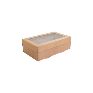 Alfresco Kraft Catering Boxes Extra Small