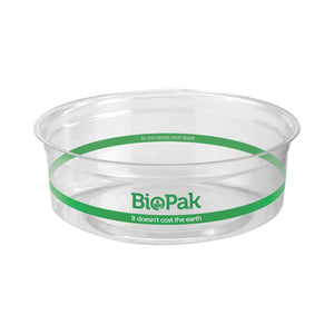 BioBowls Clear Containers & Lids