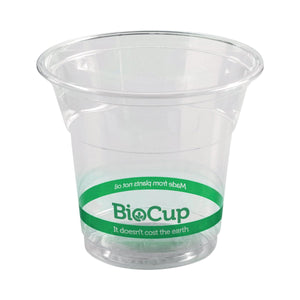 R-150Y BioPak BioCup Ingeo BioPlastic (Pla) Cup 150ml Leisure Coast Hospitality & Packaging Supplies