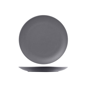 RNF3310-GY RAK Porcelain Neofusion Stone Round Coupe Plate 310mm Leisure Coast Hospitality & Packaging