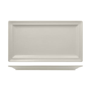 RNF8380-W RAK Porcelain Neofusion Sand Rectangular Flat Plate 380x210mm Leisure Coast Hospitality & Packaging
