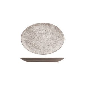 RO4260 RAK Porcelain Opulenz Oval Coupe Plate 260x190mm Leisure Coast Hospitality & Packaging