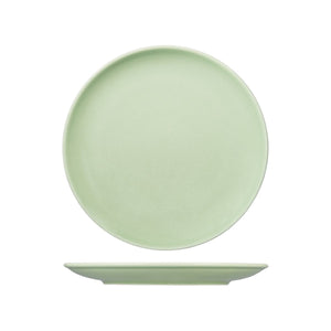 RV3270-GN RAK Porcelain Vintage Green Round Coupe Plate 270mm Leisure Coast Hospitality & Packaging