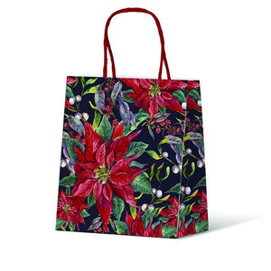 Gift Bag - Poinsettia