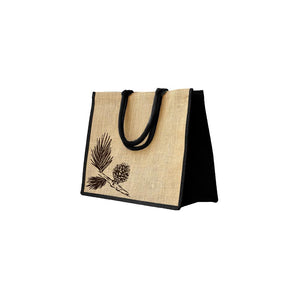 Christmas Natural Jute Bag