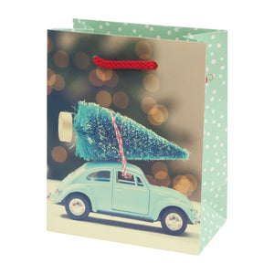Christmas VW Print Laminate Bags