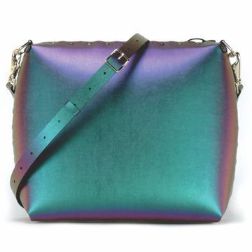 Large chameleon crossbody bag with strap