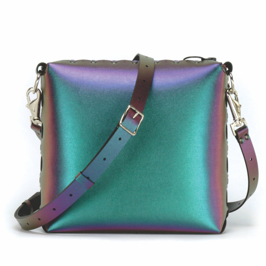 Chameleon medium crossbody bag with strap
