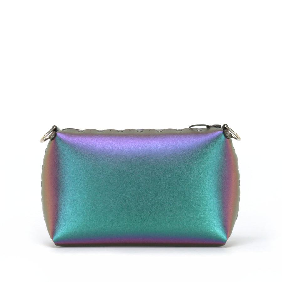 Chameleon small crossbody bag without strap