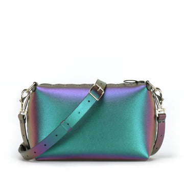 Chameleon small crossbody bag with strap