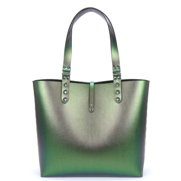 Emerald Green Iridescent Tote Bag