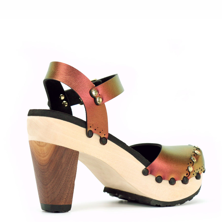 Ruby Ankle Strap Clogs
