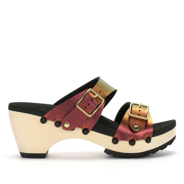 Ruby Mid Clog Mule - Mohop