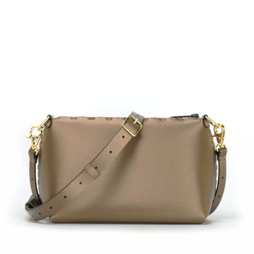 Mocha small crossbody bag with strap