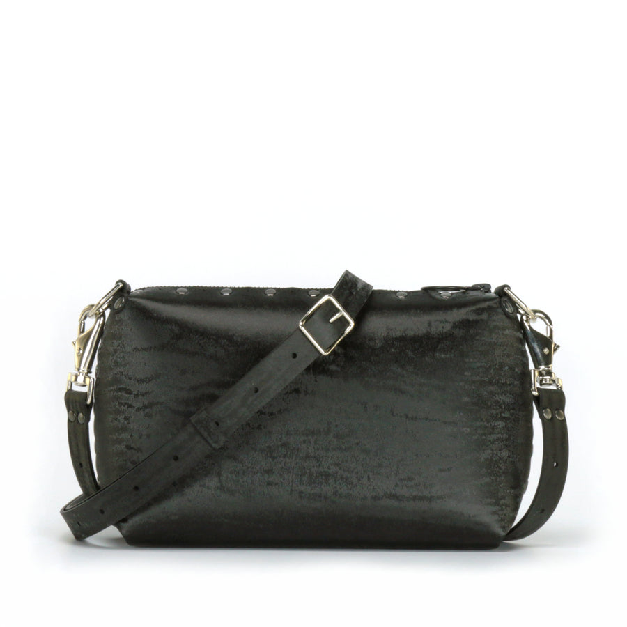 Onyx small crossbody bag with strap