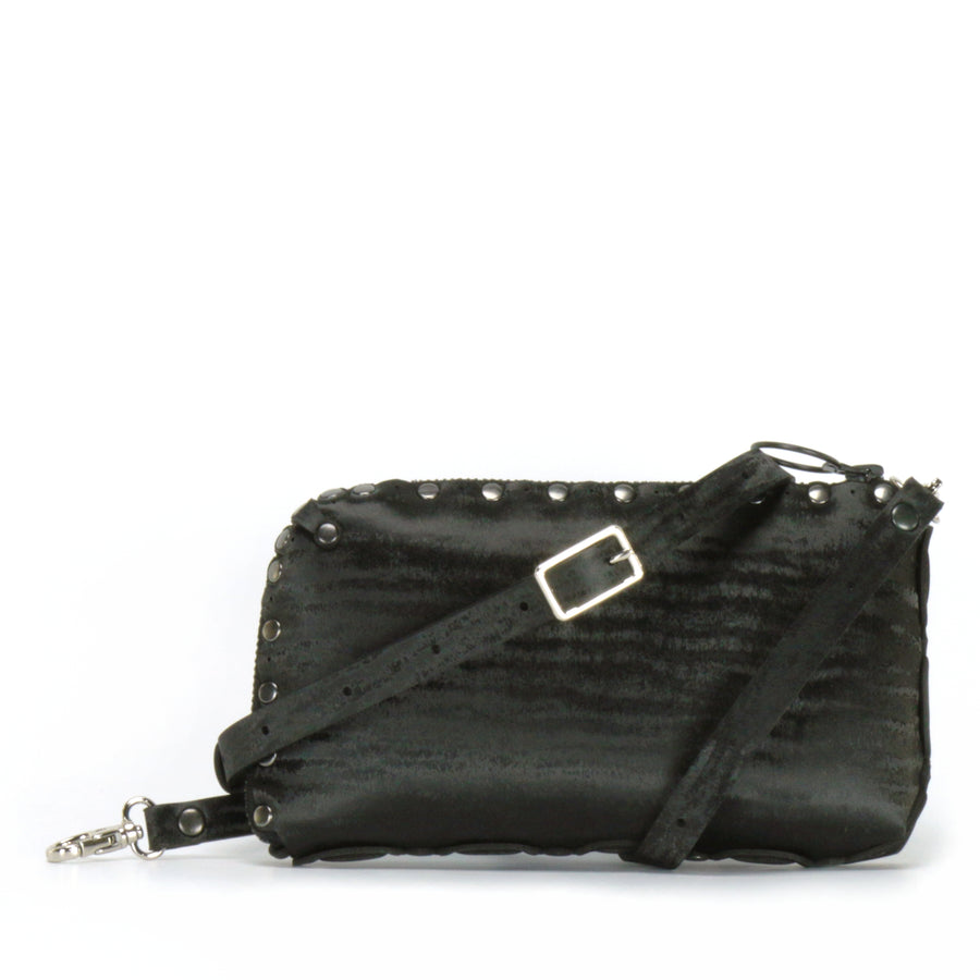 Onyx wallet bag with crossbody strap upgrade