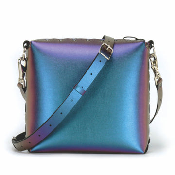 Peacock medium crossbody bag with strap