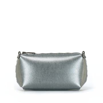 Pewter mini bag