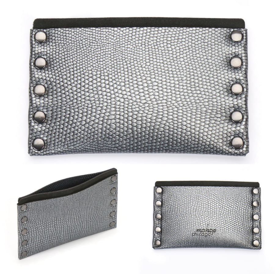 Thin Wallet With Monogram