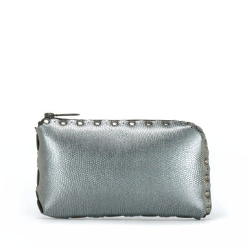 pewter wallet bag