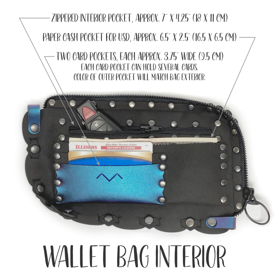 Mohop wallet bag interior