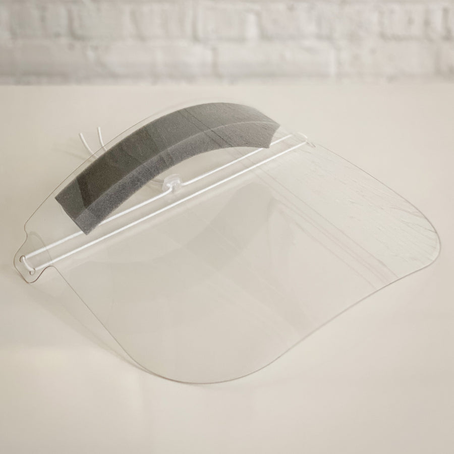 Reusable Face Shield - Gray