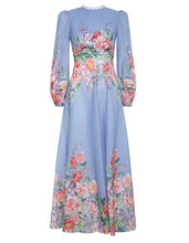Load image into Gallery viewer, Bellitude Floral Long Dress
