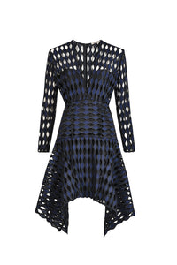 Soundwave Lace Dress