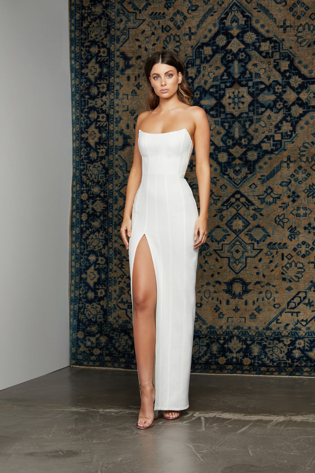 LEYLA DRESS - WHITE