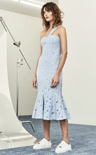 Load image into Gallery viewer, BENITO MIDI DRESS - BLUE