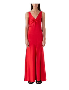 HARPER V-NECK GOWN